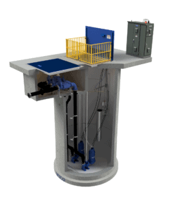 Concrete Municipal Pump Station