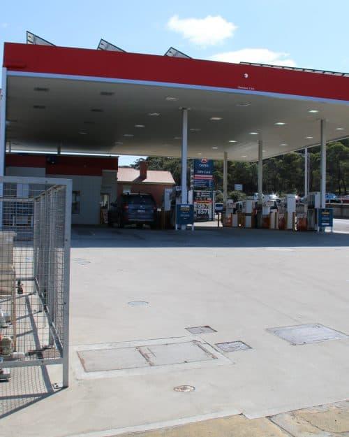 Caltex Hobart Oil Water Separator
